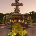 Bethesda Fountain and the Angel of the Water