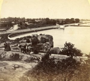 The Croton Reservoir that Christopher 'sees' in Central Park Story Book One