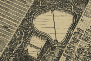 The Old Croton Reservoir that Chrstopher 'sees' in Central Park Story