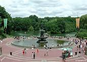 The Bethesda Terrace and Fountain