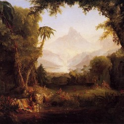 Expulsion from the Garden of Eden by Thomas Cole (1828)