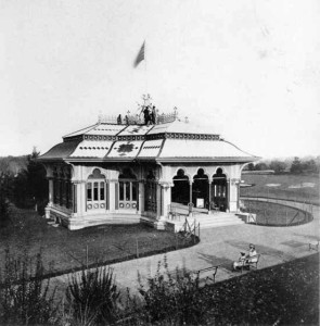 Mineral Water Pavilion in Central Park